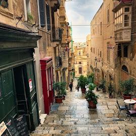 Malta  by Bianca Enache - City,  Street & Park  Street Scenes
