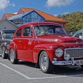 Volvo Pv Halden City  by Brynhilde Bålerud - Transportation Automobiles