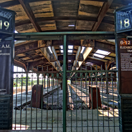 Central Jersey Terminus by Gary Ambessi - Buildings & Architecture Decaying & Abandoned