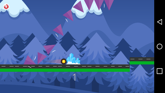 jumping wheel - screenshot