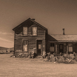 by Paul Scullion - Buildings & Architecture Decaying & Abandoned ( old, california, ghost town, bodie, mine, gold )
