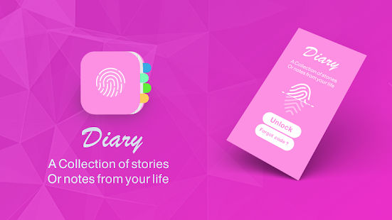 App diary with a fingerprint lock apk for kindle fire