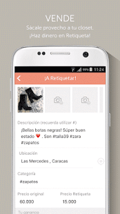 retiqueta - screenshot