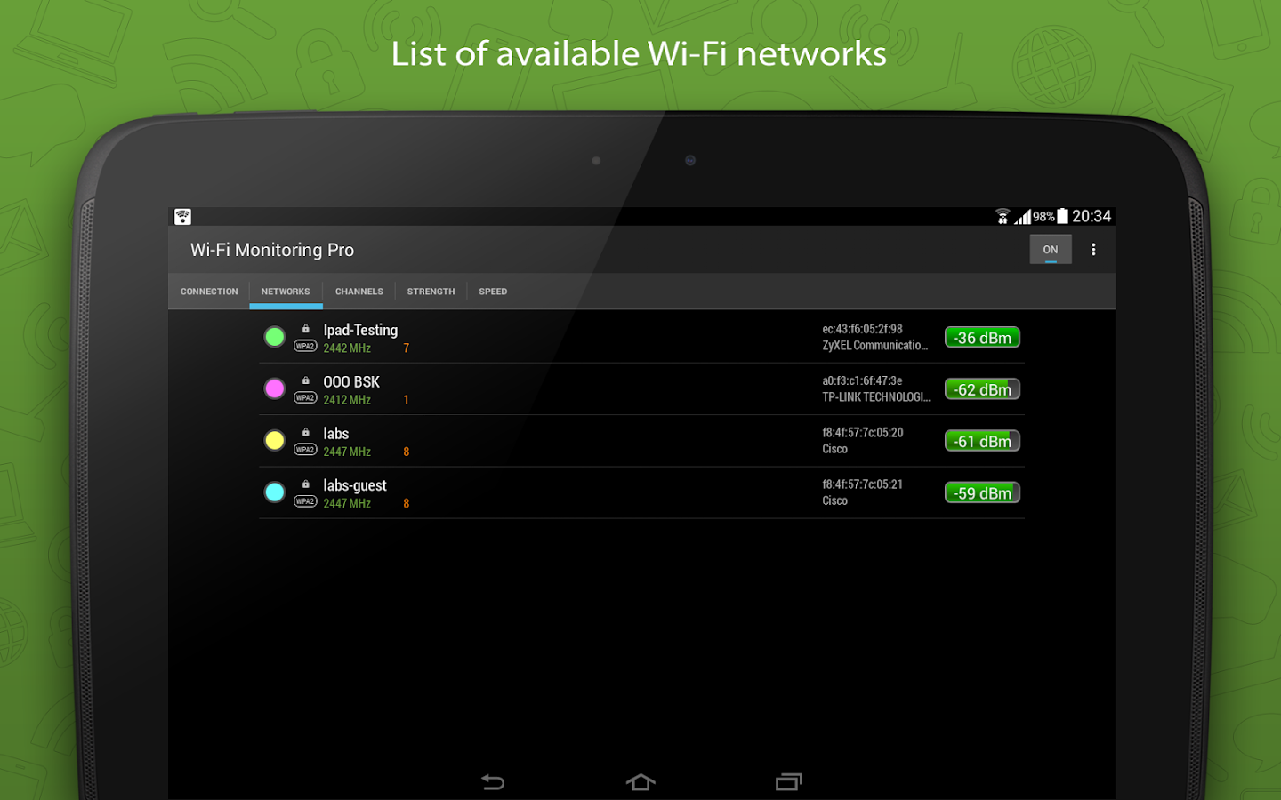 WiFi Monitor Pro Screenshot 6