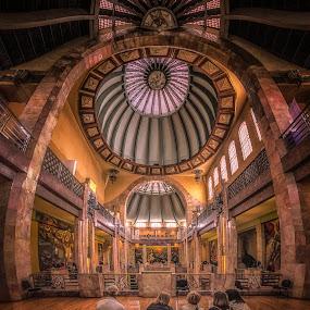 Bellas Artes by Ole Steffensen - Buildings & Architecture Other Interior ( bellas artes, mexico city, murals, dome, museum, art deco, concert hall,  )
