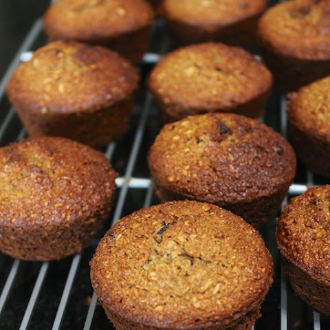 Healthier Honey-Bran Muffins