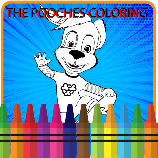 Book of Coloring The pooches (game)