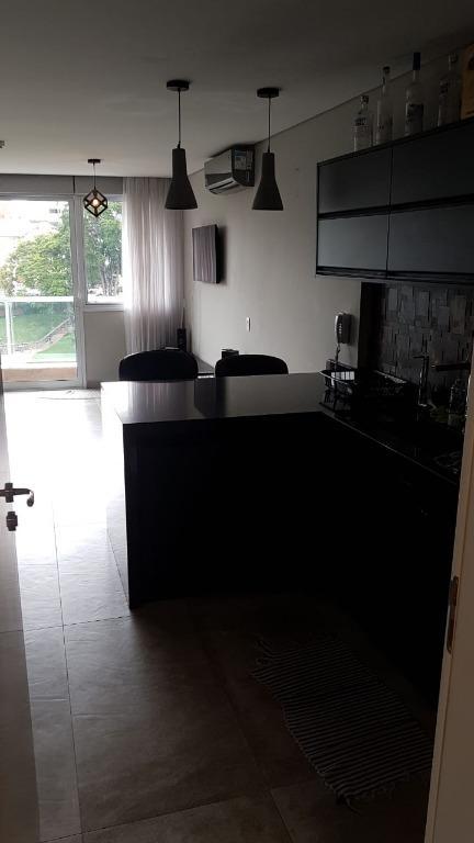 Apartamento Loft com 1 dormitório para alugar, 43 m² - Centro - Jundiaí/SP