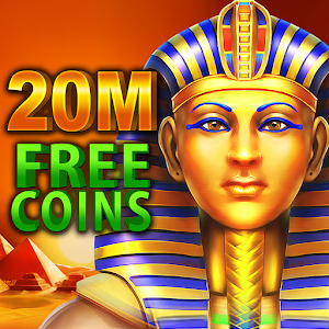 Get mega bonus in Pharaoh's slot machines! Play BEST 777 vegas casino for FREE! APK Icon
