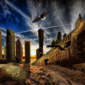 Abandoned by Zulkifli Yusof - Digital Art Places
