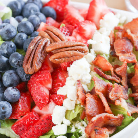 Summer Strawberry Poppy Seed Salad and Giveaway