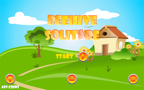 Beehive Solitare - screenshot