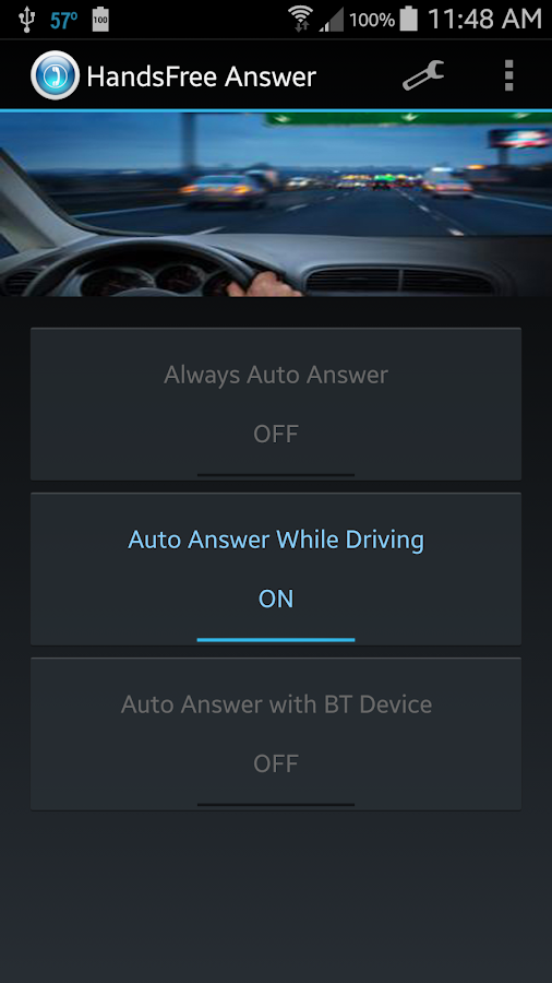 HandsFree Answer (Auto Answer) Screenshot 2