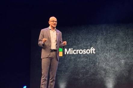 'Privacy is a human right': Big cheese Sat-Nad lays out Microsoft's stall at Future Decoded