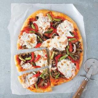 Mushroom Red Pepper Pizza Recipes