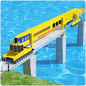 Bridge Construction on River Road: Unique Game APK for Bluestacks