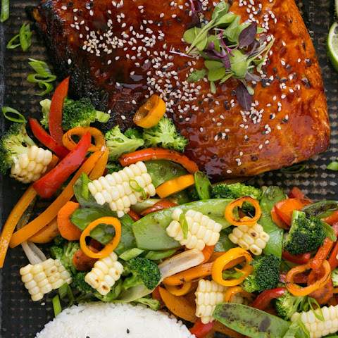 Crispy Salmon with Ginger Soy Sauce Recipe | Yummly