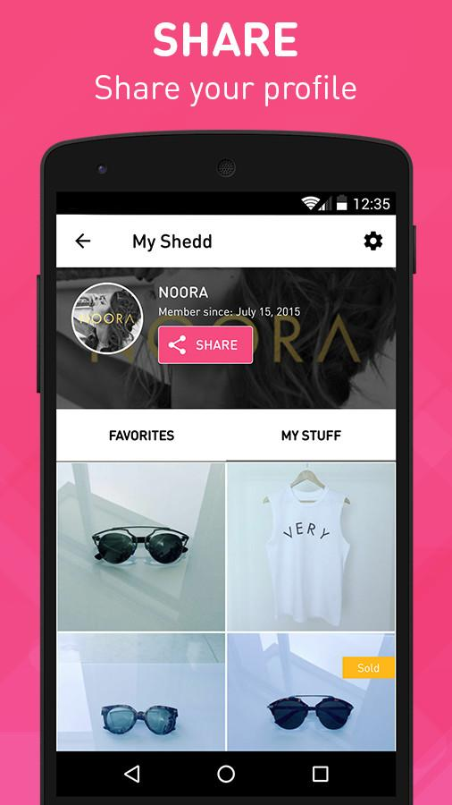 Shedd - Buy and Sell Fashion Screenshot 4