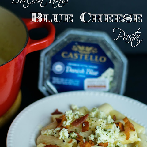 Bacon and Blue Cheese Pasta