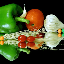 Capsicum time by SANGEETA MENA  - Food & Drink Ingredients