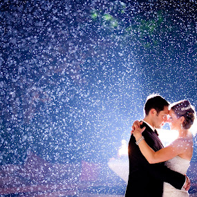 rain by Drew Noel - Wedding Bride & Groom ( drew noel photography )