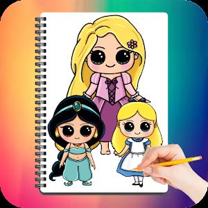 Drawing Cute Chibi Princess For PC / Windows 7/8/10 / Mac – Free Download