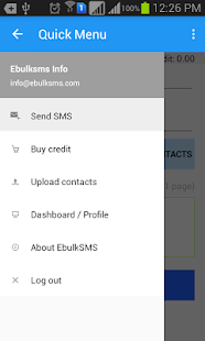 EbulkSMS - Bulk SMS Nigeria - screenshot