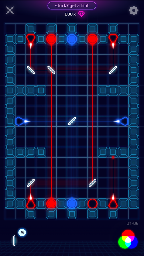 Laser Dreams - Brain Puzzle Screenshot 1