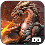 VR Safari Dragon Hunting Challenge Park Icon