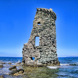 CAP CORSE by Gianluca Presto - Buildings & Architecture Decaying & Abandoned ( nobody, cap corse, corse, sea, stone, historic tower, architecture, travel, beach, historic, tower, mediterranean, architectural, summer, decaying, abandoned )