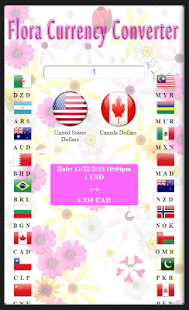 Flora Currency Converter Free - screenshot