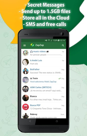 Download Zap Zap – Chat and Groups free app for Android