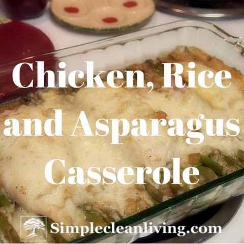 Chicken, Rice and Asparagus Casserole