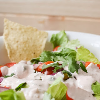 Easy Southwestern Dressing for Taco Salad