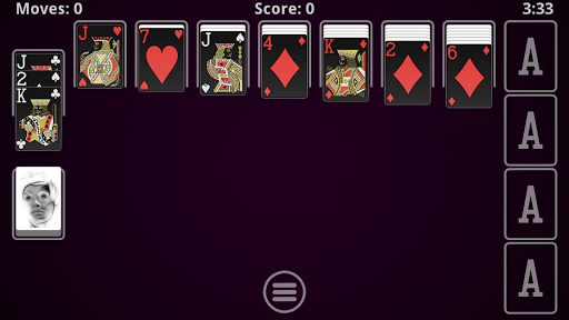 Solitaire - screenshot