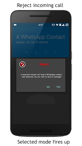Weject- Manage incoming calls screenshot 4