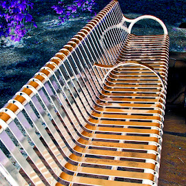PARK BENCH by Jody Frankel - Artistic Objects Furniture