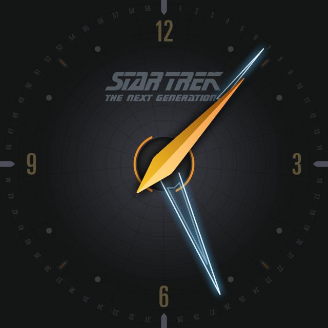 Star Trek official watchface 1 Screenshot 5