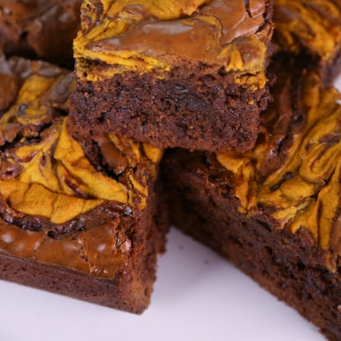 Pumpkin Cream Cheese Brownies