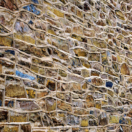 My kind of wall by Alycia Marshall-Steen - Buildings & Architecture Architectural Detail ( rock wall, beautiful wall, abstract wall, stone wall, wall )