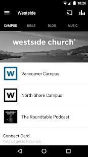 Westside Church - screenshot