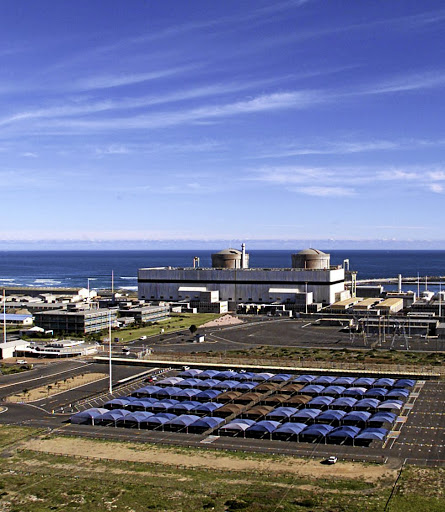 Koeberg nuclear power just outside Cape Town. Picture: SUNDAY TIMES