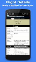Screenshot of Heathrow Flight Information
