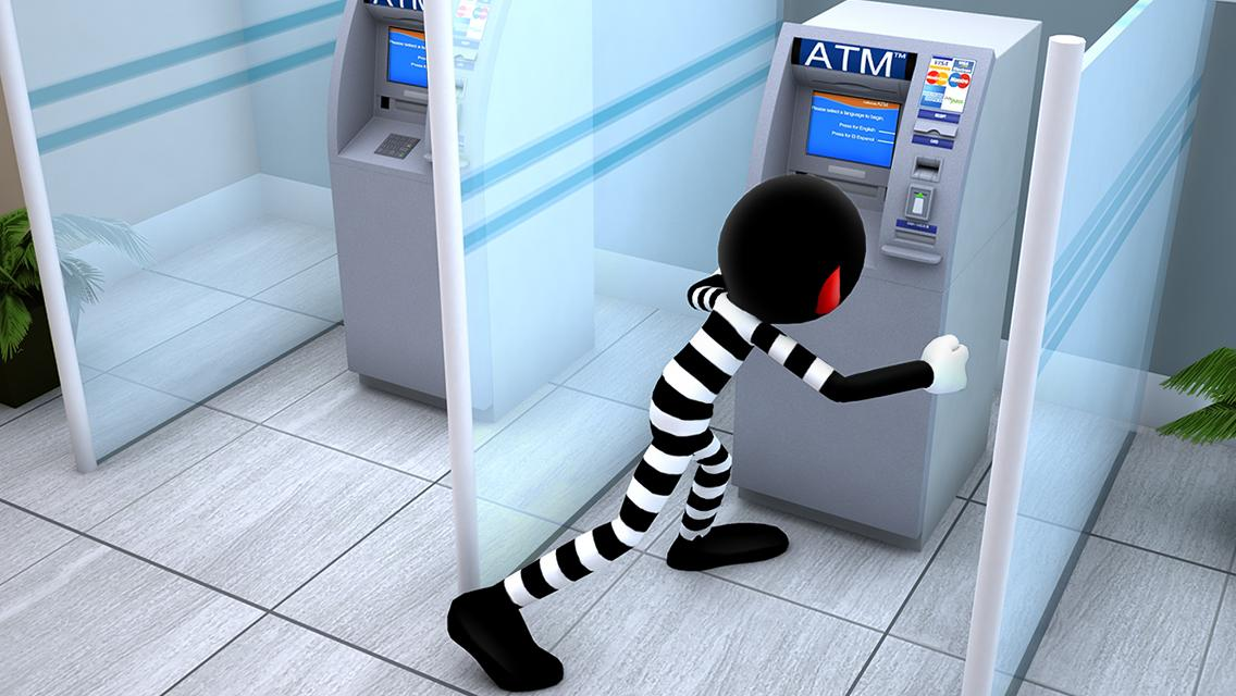 Stickman Bank Robbery Escape Screenshot 10