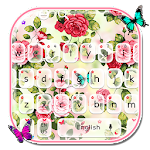 Jardín Rose Keyboard Icon