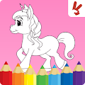 Game Unicorn coloring book for kids APK for Windows Phone