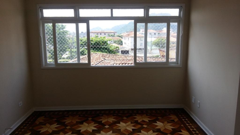 Apartamento com 2 dormitórios à venda, 85 m² por R$ 259.000 - Centro - São Vicente/SP