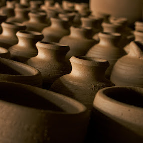 Jars and Pots by Eric Montalban - Artistic Objects Other Objects ( jar making, burnay, pots, jars )