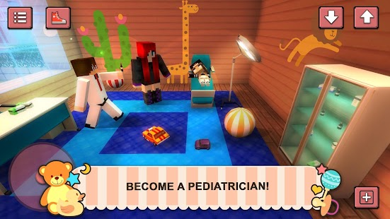 Baby Hospital Craft: Newborn Care. Doctor Games for pc