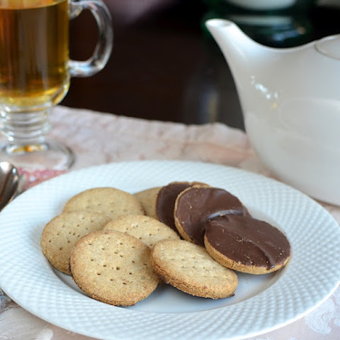 Chocolate Covered Digestive Biscuits